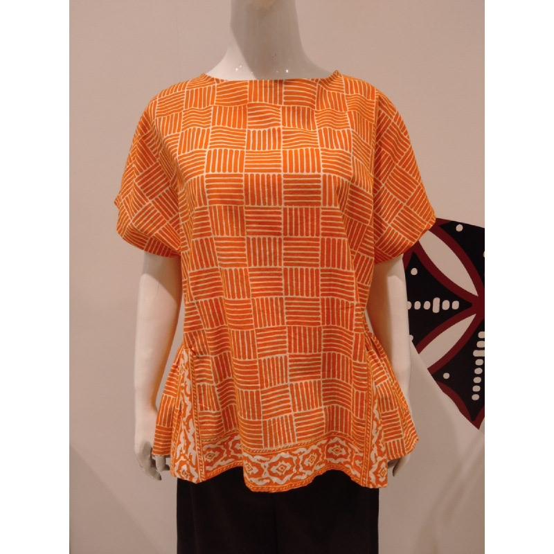 Astari Batik Blouse Orange