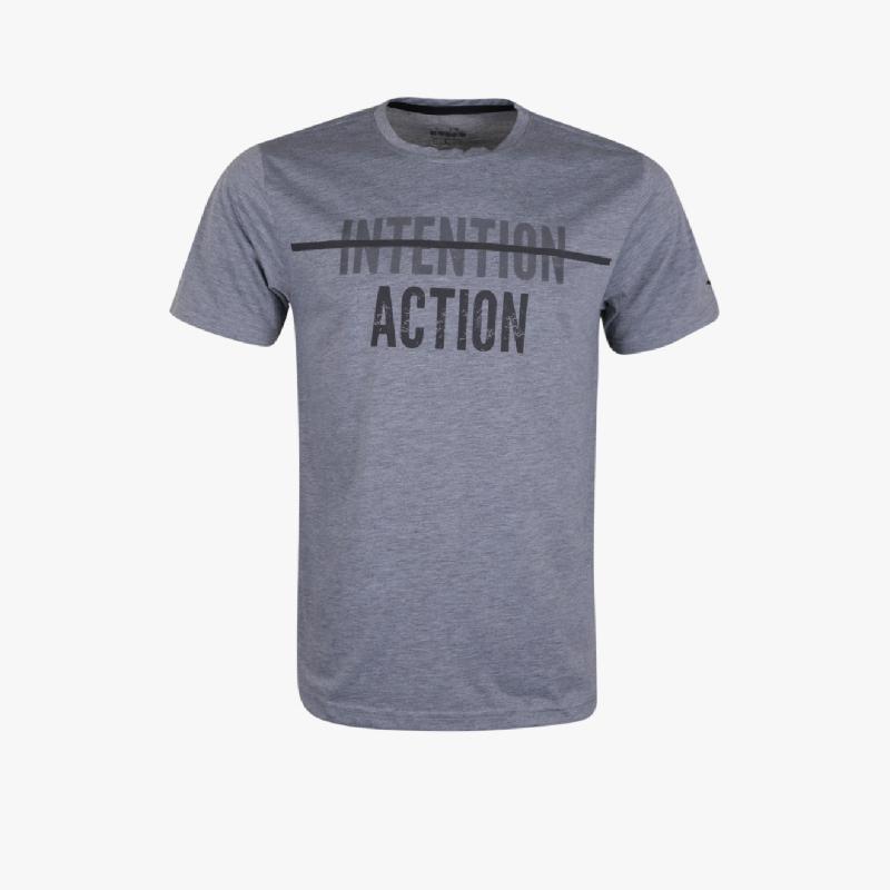 Diadora Tarik Z Men T-Shirts Grey