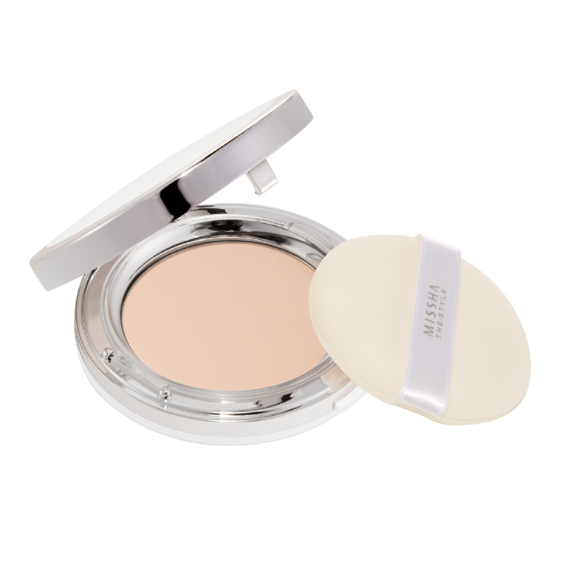 Missha The Style Fitting Wear Powder Pact Spf25 Pa++ No 23 Natural Beige