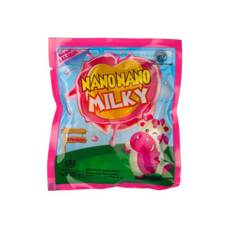 Nano Nano Milky Scht Strawberry