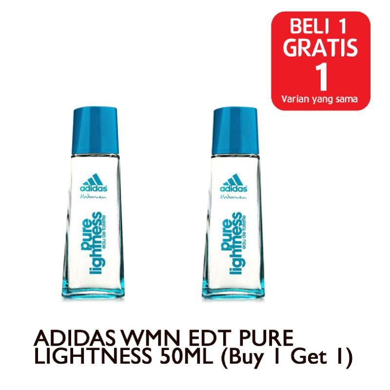 ADIDAS WMN EDT PURE LIGHTNESS 50ML (Buy 1 Get 1)
