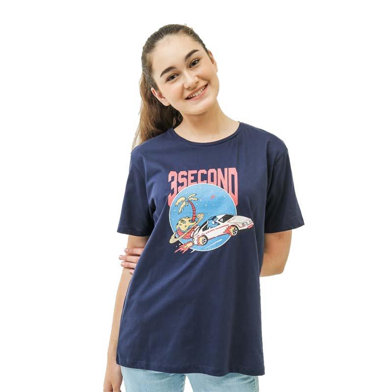 3Second Women Tshirt 0106 Blue