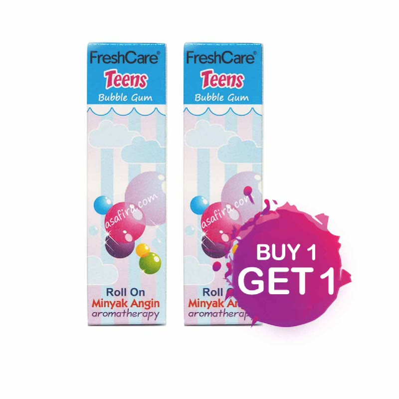 Freshcare Teen Bubble Gum 10Ml (Buy 1 Get 1)