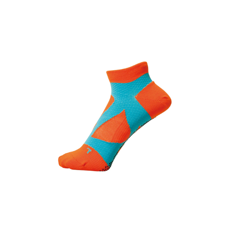 Yamatune – Spider Arch Support With Dot Orange Cross light Blue
