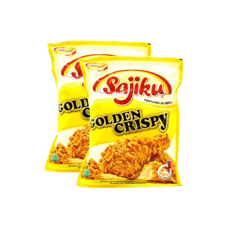 Sajiku Tepung Bumbu Golden Crispy 200 Gr (Buy 1 Get 1)
