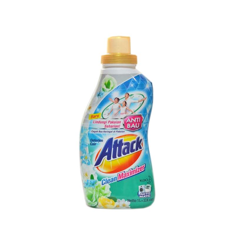 Attack Clean Maximizer Liquid Detergent 1 L