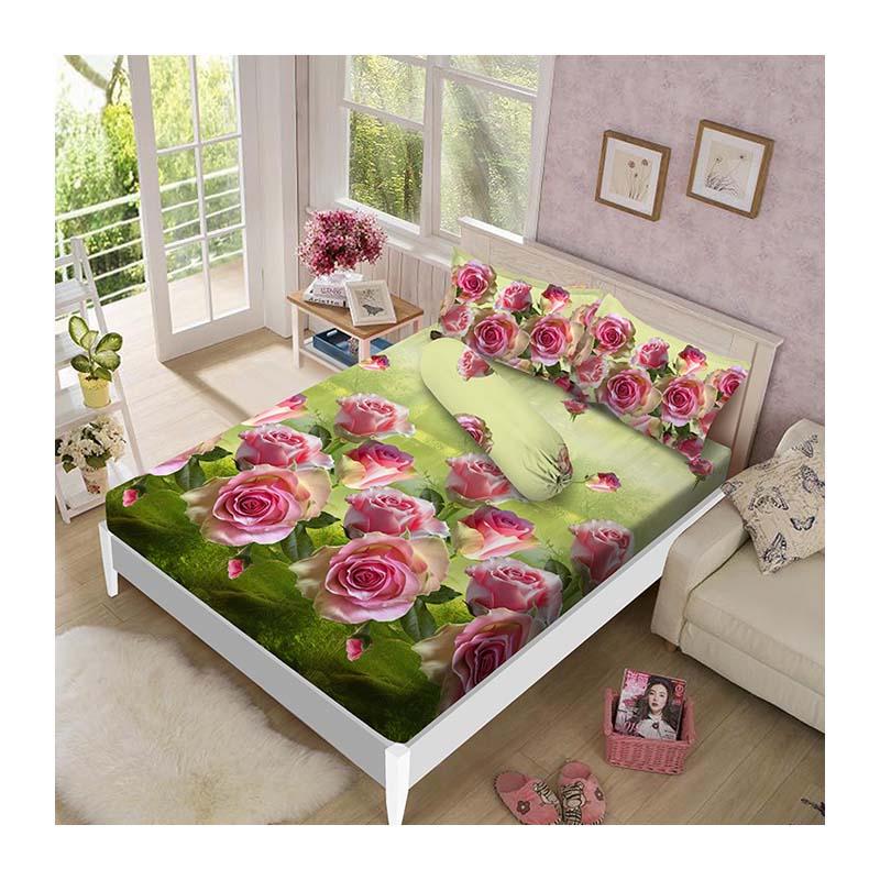 Kintakun Luxury Sprei 180 x 200 B4 King Rosalina
