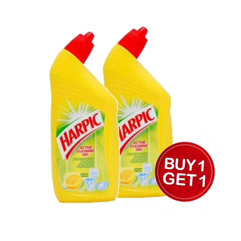 Harpic Liquid Cleaning Gel Lemon 450 Ml (Buy 1 Get 1)