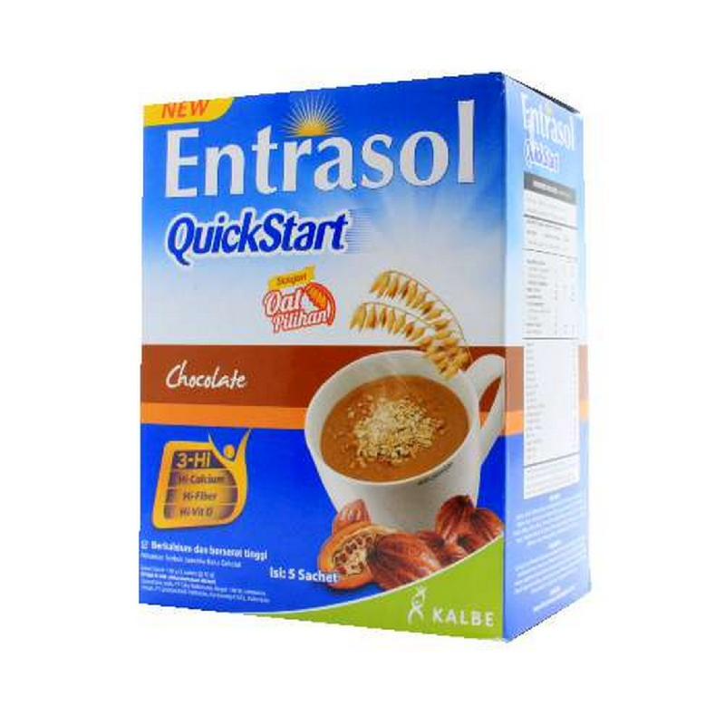 Entrasol Quickstart Coklat 5x30 g