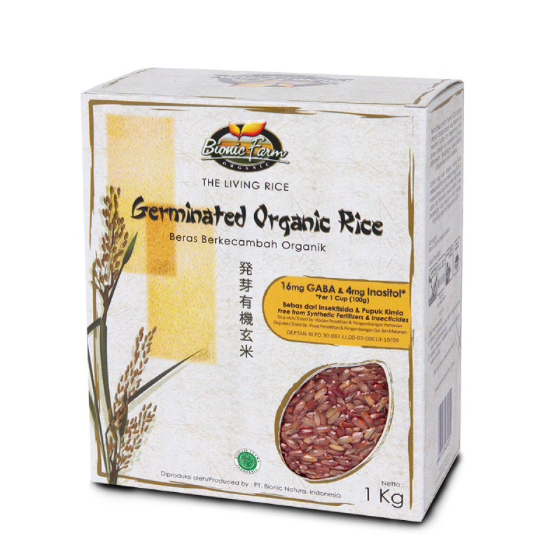 Bionic Farm Germinated Red Rice 1Kg