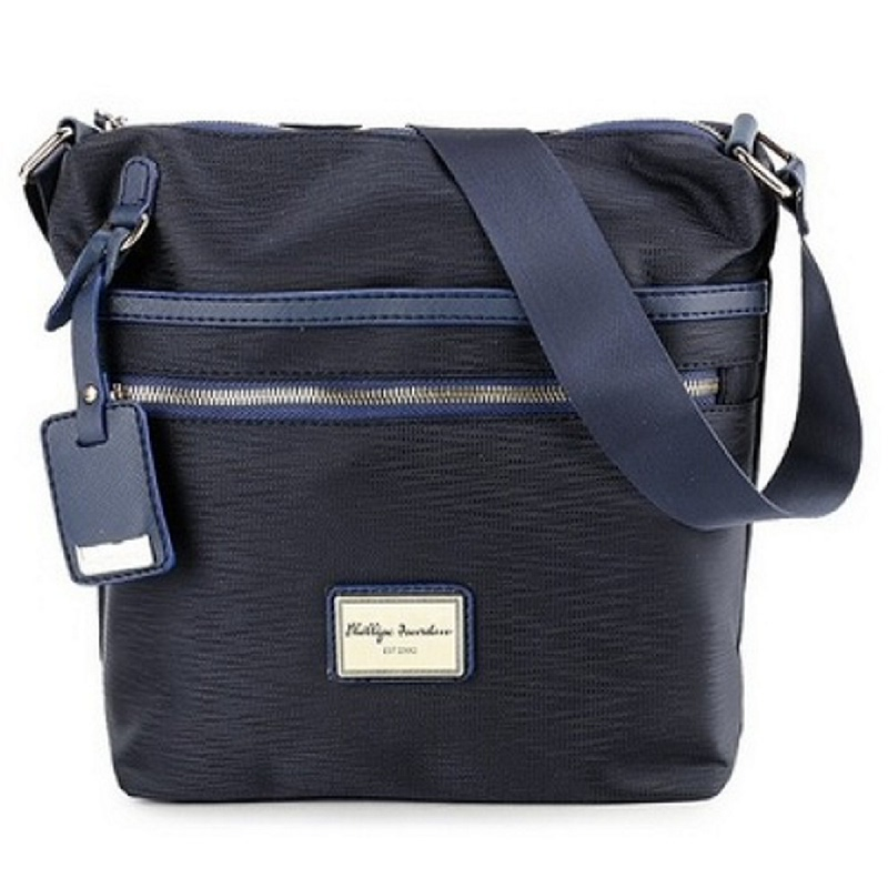 Phillipe Jourdan Forra Messenger Bag Blue