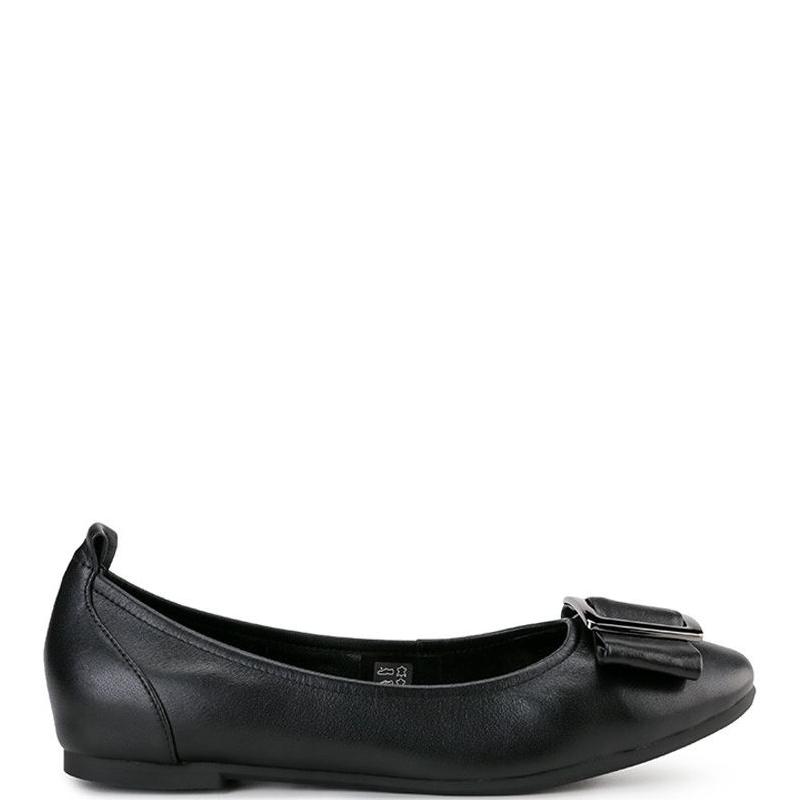 Andrew Ladies Ylvie Flats Black
