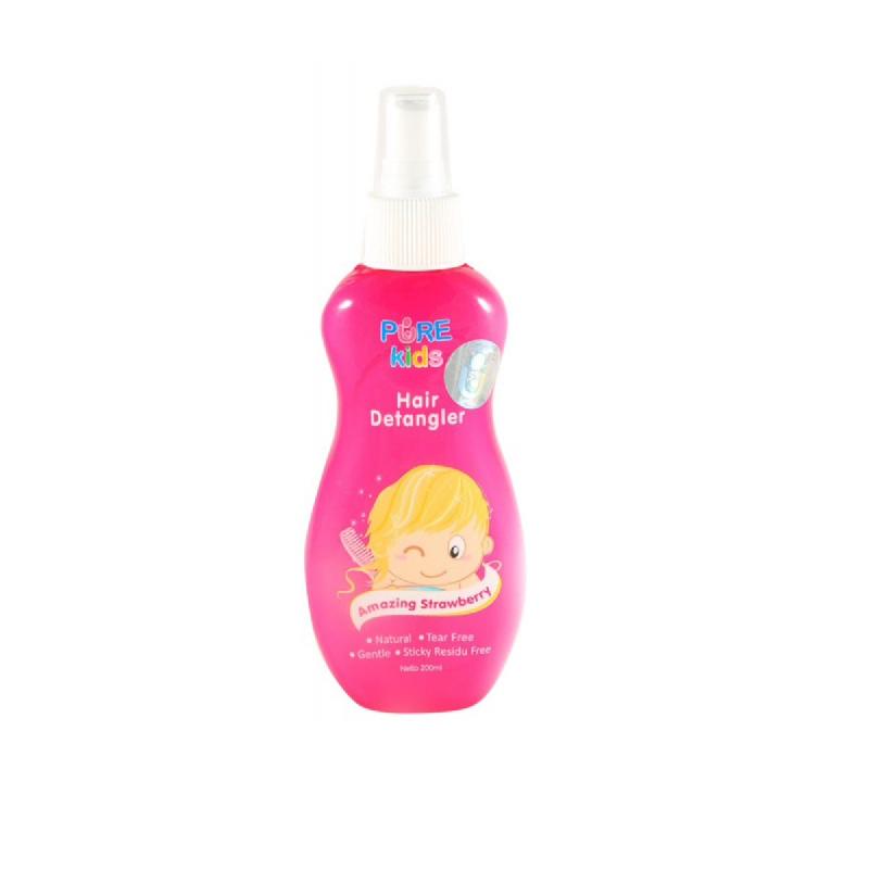 Pure Kids Hair Detangler Amazing Strawberry 200 Ml