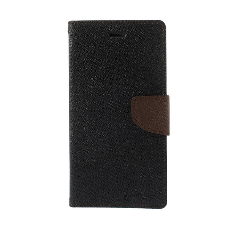 Goospery Fancy Diary I Phone 7 Plus - Hitam Brown
