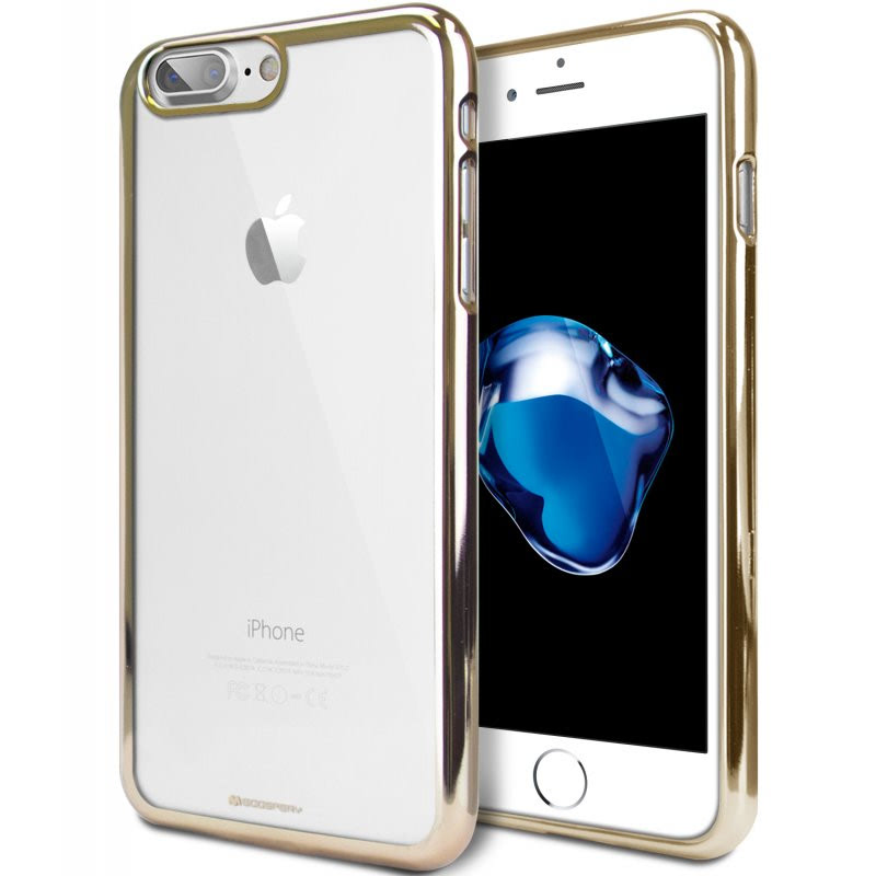 Goospery Ring 2 Jelly for iPhone 7 Plus  - Gold