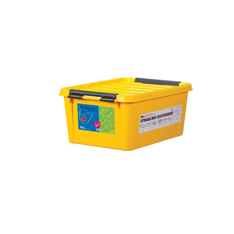 Lock & Lock INP111Y INPlus Easy Clip Box 15L Yellow