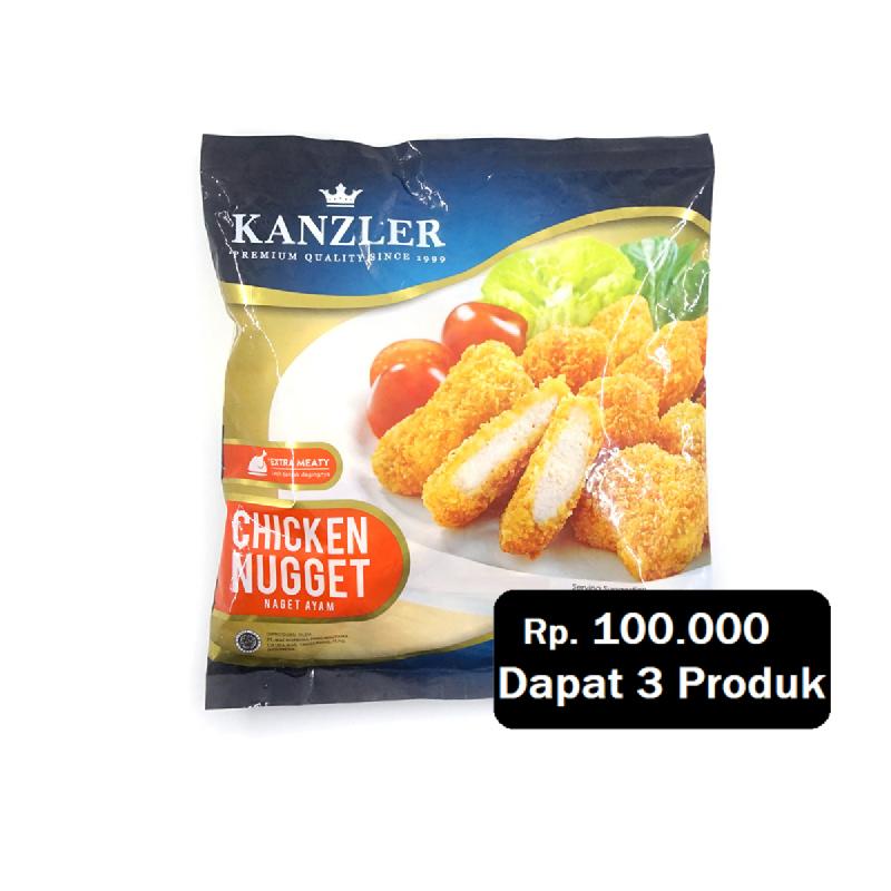 Kanzler Nugget Original 450G (Rp. 100.000 Dapat 3)