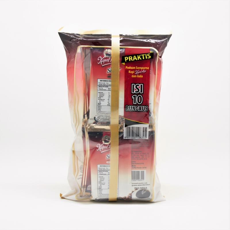 Kapal Api Spc Mix Less Sugar Sch 10X19Gr
