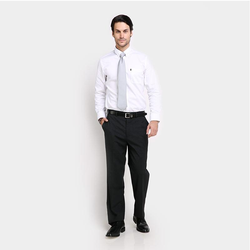 Grey Formal Basic Pant PJ160682MG33805