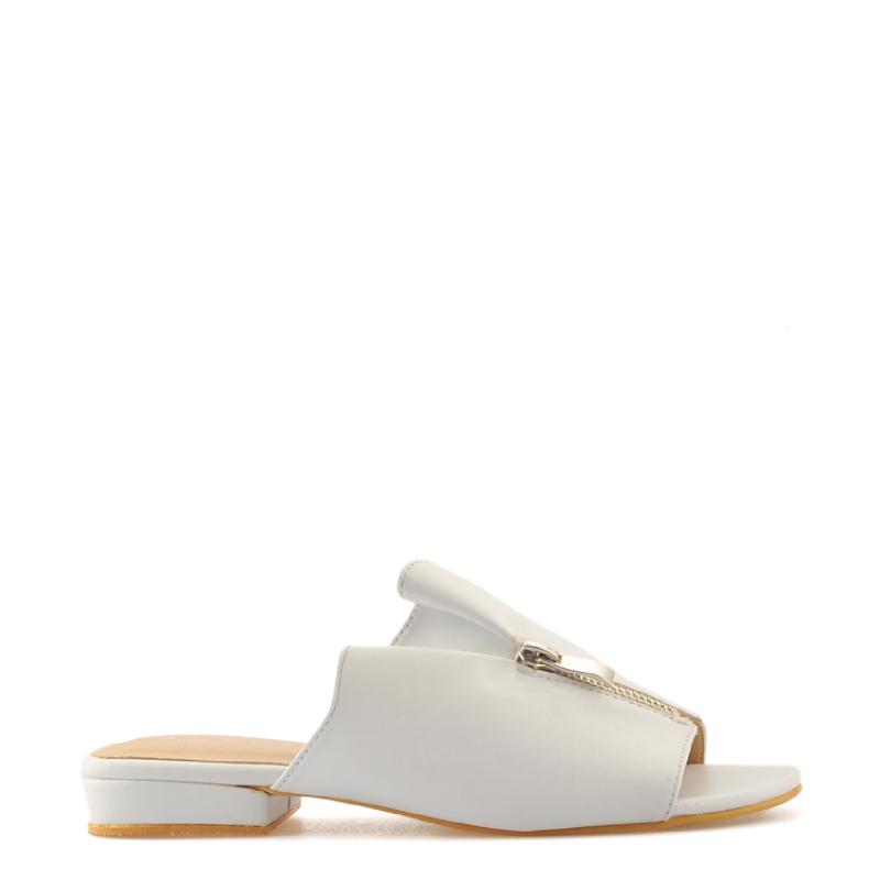 Amante Flat Shoes Zac J18 White
