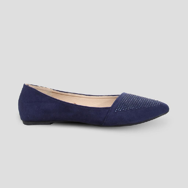 The Little Things She Needs Flat Shoes Vittoria Navy