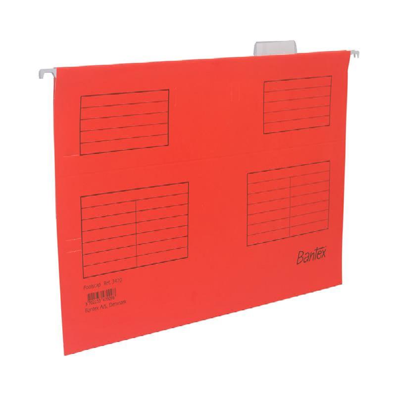 Bantex Suspension file (Hang map) Folio Red -3470 09