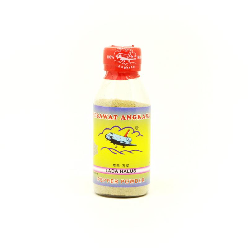Pesawat Angkasa Lada Putih Botol 75 Gr