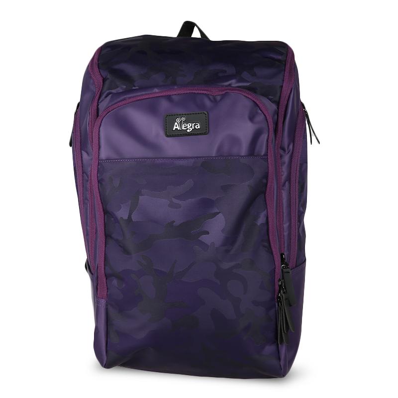 Allegra Army Cooler Diaper Bag Backpack Purple