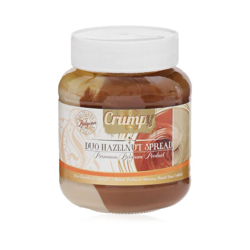 Crumpy Duo Hazelnut Spread 400G