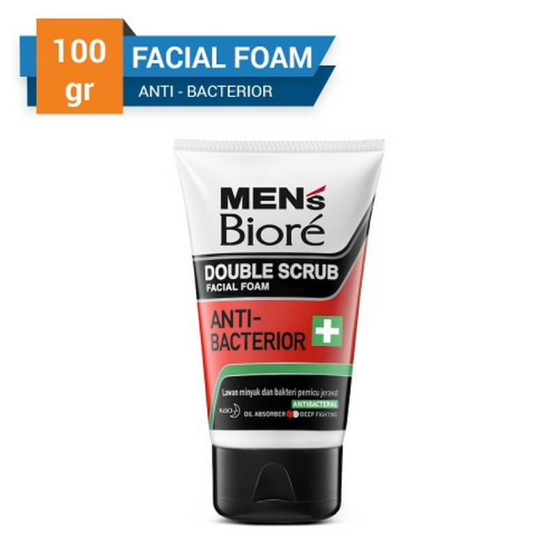 Biore Men's Facial Foam Anti Bacterior (Pop Up) 100 g