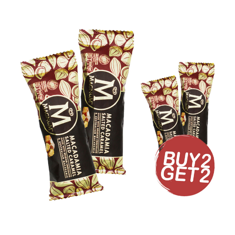 Magnum Macademia Salted Caramel 80 Ml (Buy 2 Get 2)