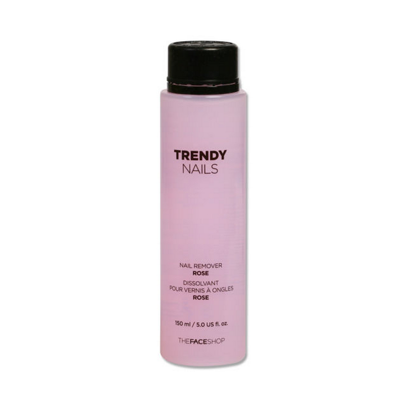 The Face Shop Trendy Nail Remover Rose 150ml