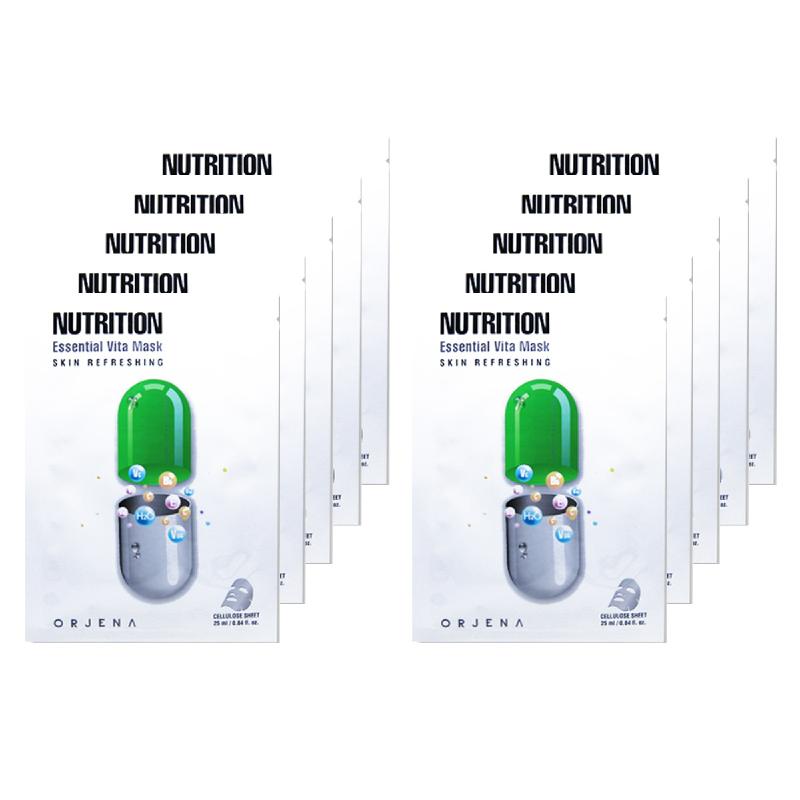 Orjena Nutrition Essential Vita Mask 10Pcs