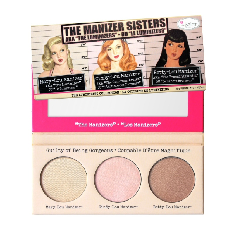 The Balm Highlighter and Shadow The Manizer Sisters