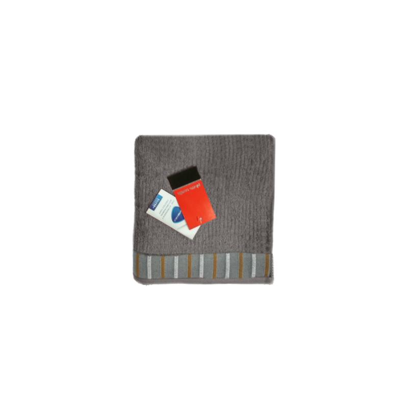 Handuk Travel Pierre Cardin PC8016I0-55NE-MLT- Abu-abu
