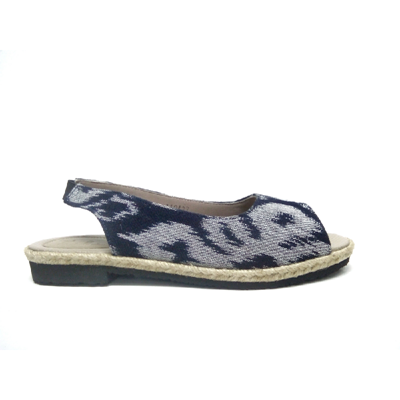 DAT Flat Shoes Trudy Grey Navy