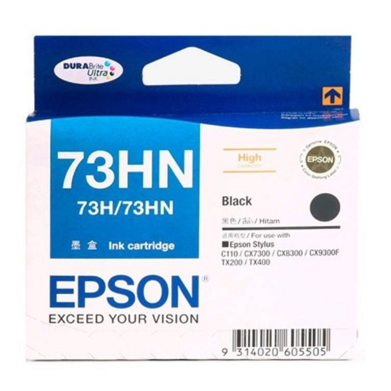 Epson Black Ink Cartridge For Ctrg T1100
