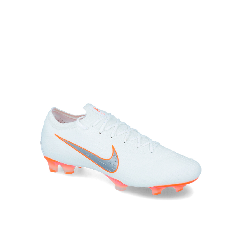 Nike Vapor 12 Elite FG Men Soccer Shoes White