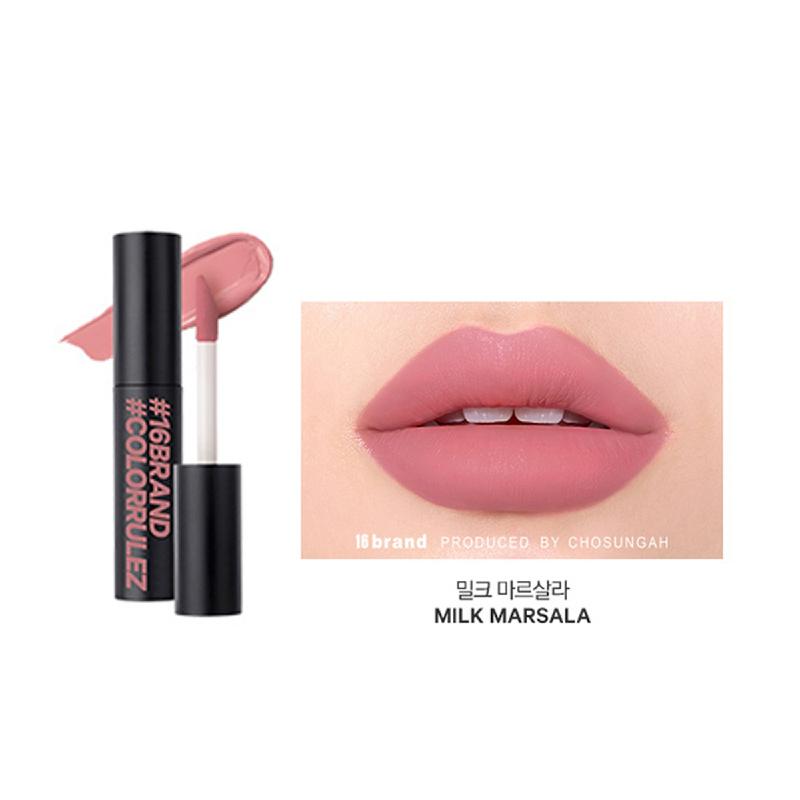 16brand Sixteen Colorrulez Velvet Lip - Milk Marsala