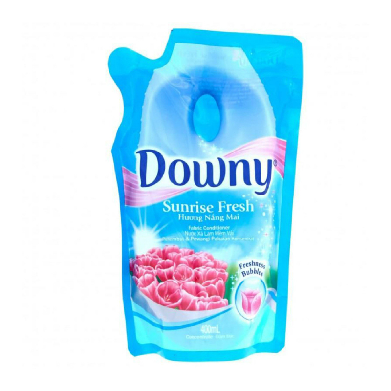 Downy Fabric Liquid SB Fresness Bubbles Reffil 400 Ml