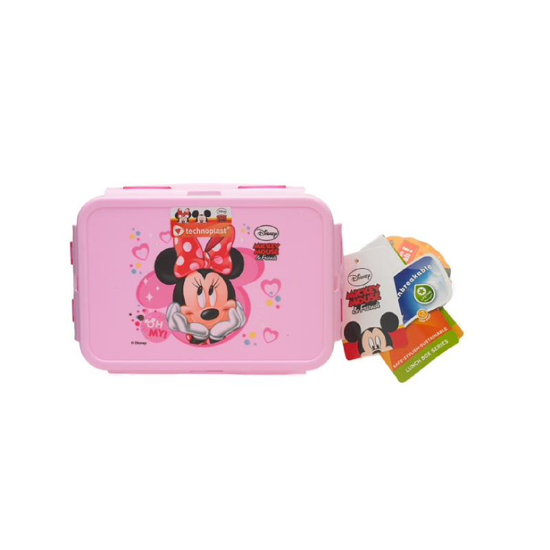 Minnie Mouse Lunch Box Pink