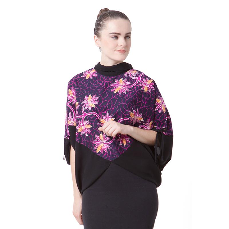 Raden Sirait Blouse Rieana Purple