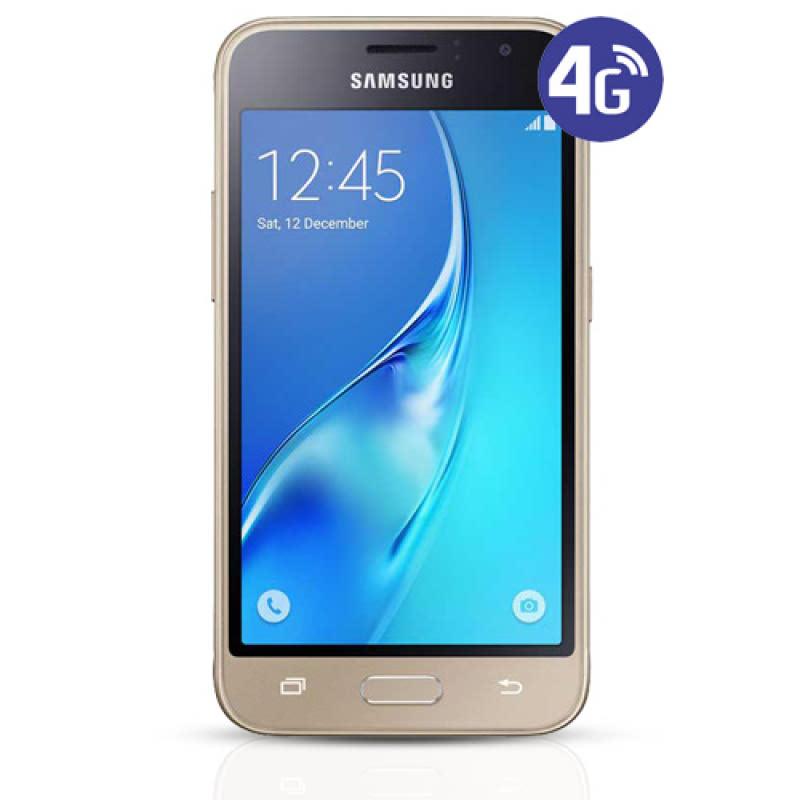 Samsung Galaxy J1 (2016 Edition) Smartphone - Gold Free MicroSD 32GB