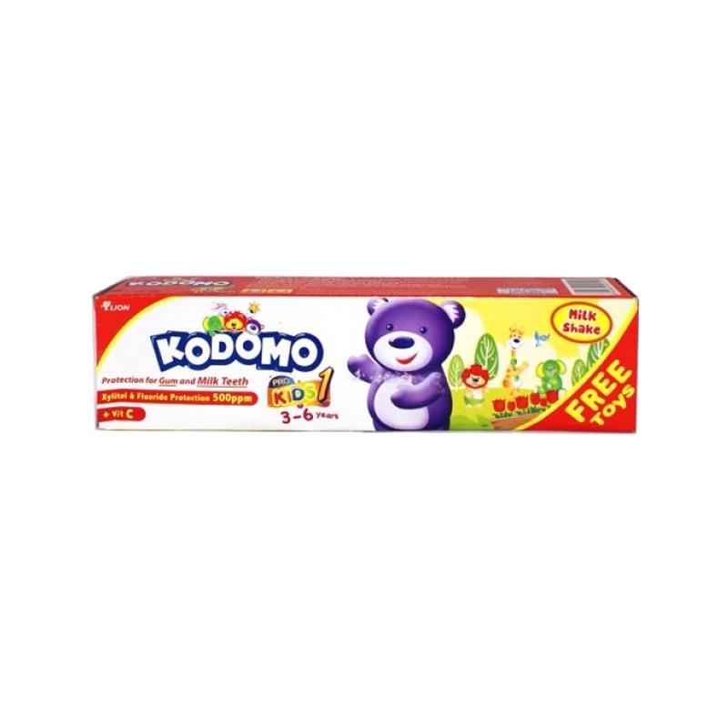 Kodomo Pasta Gigi Pro Kids 1 3-6 Tahun Milk Shake 45 Gr