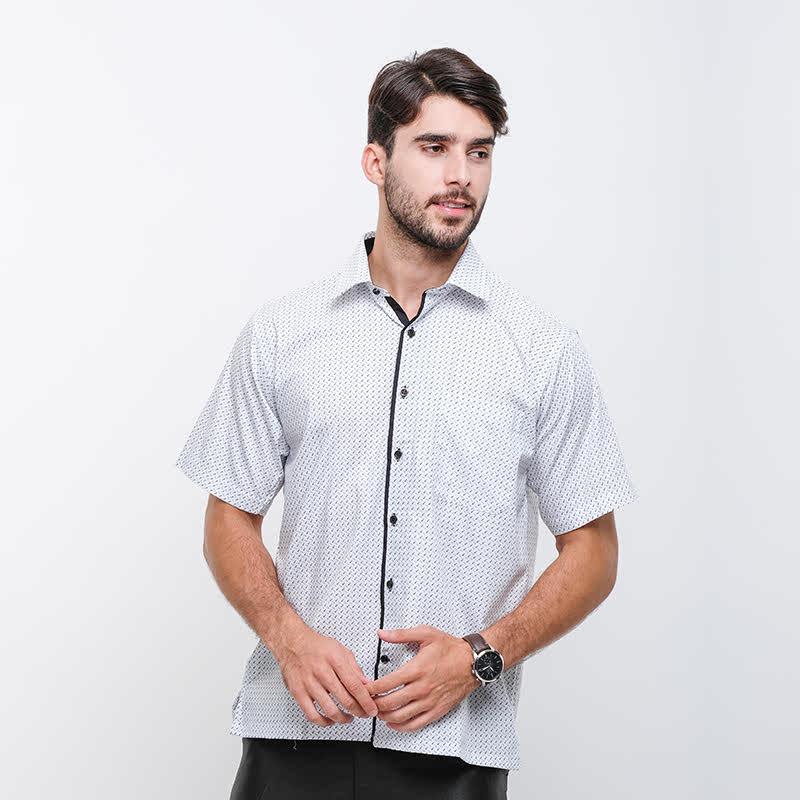 Gianni Visentin Regular Shirt -Putih