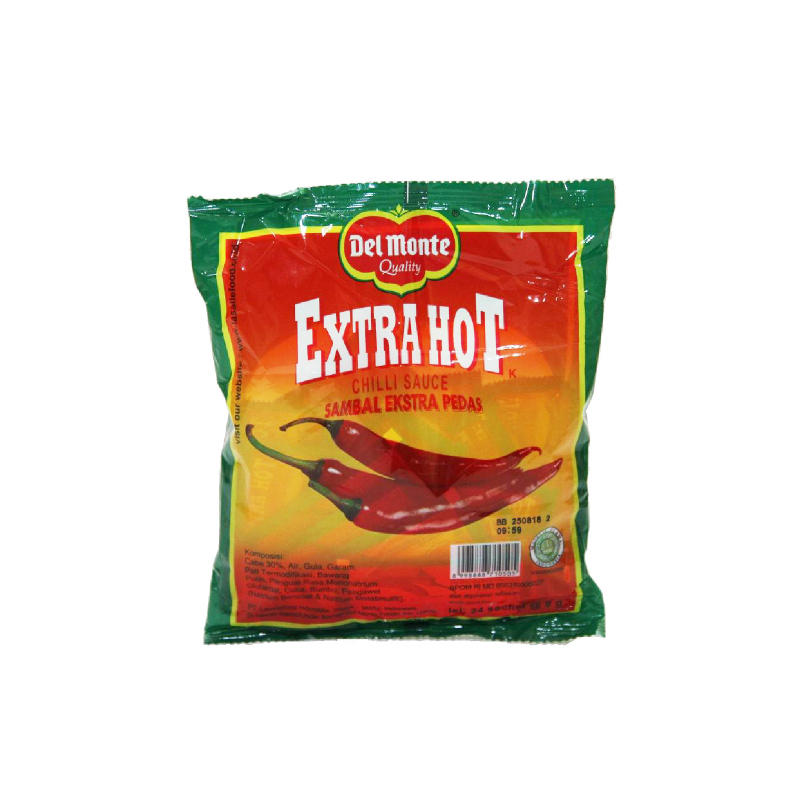 Del Monte Chilli Extra Hot Sachet  24X10 Gram