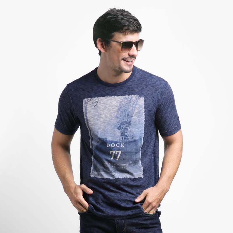 Dk Blue  T - Shirt  282FW160186