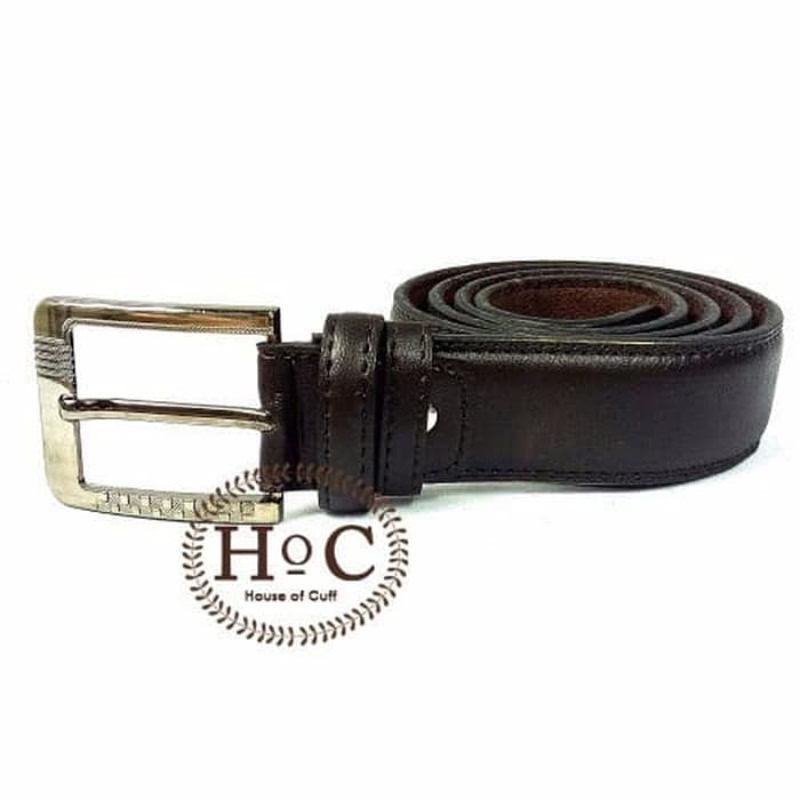 House Of Cuff Suspender Gesper Belt Wedding Best Man Black Belt 02 - Hitam