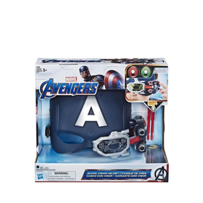 Avengers Captain America Scope Vision Helmet - AVSE6507