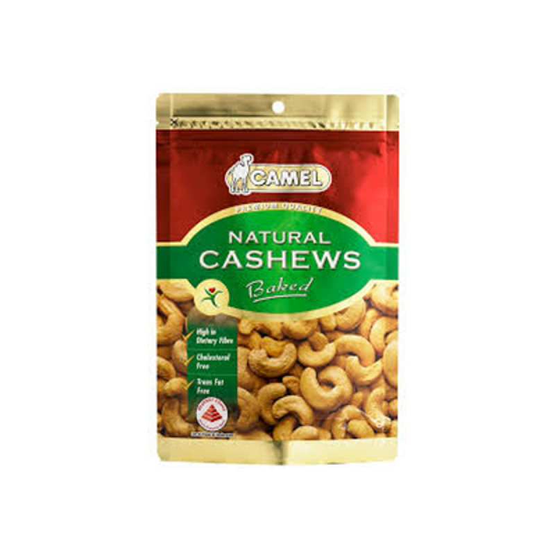 Camel Natural Cashews Baked 180G